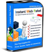Instant-Web-Paket