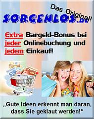 Sorgenlos.de - Clever Einkaufen mit Cashback